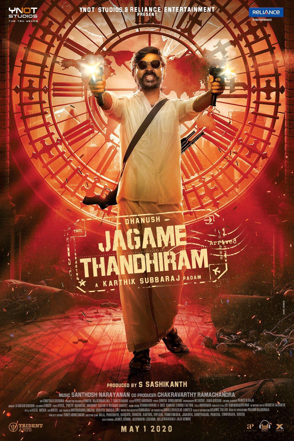 Jagame Thandhiram Picture Gallery