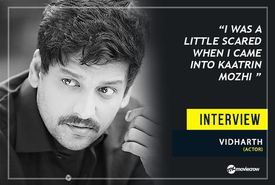 Actor Vidharth Interview - Interview image