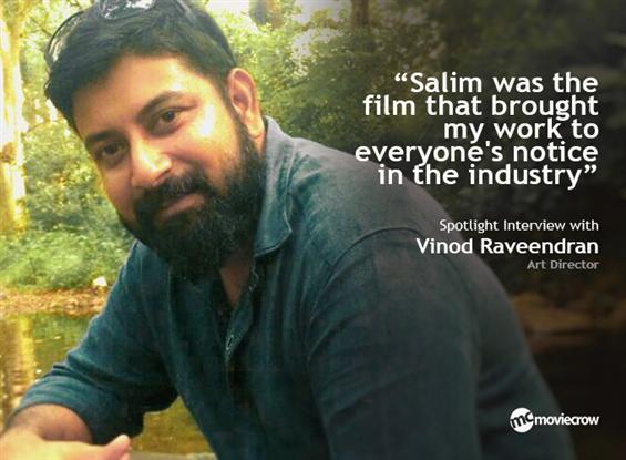 Art Director Vinod Raveendran - Interview image