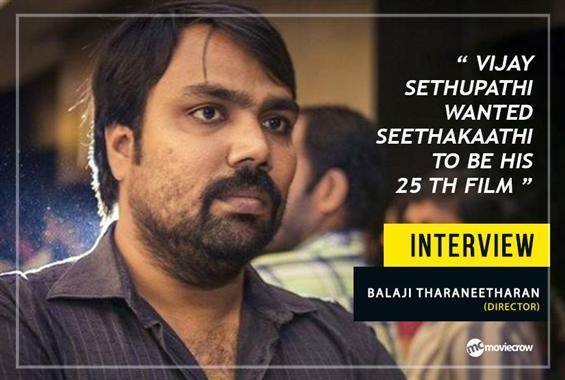 Balaji Tharaneetharan Interview - Interview image