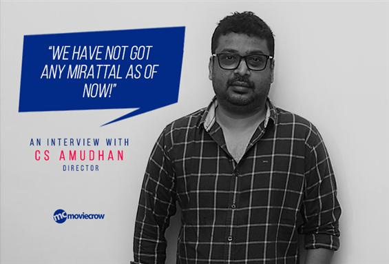 C S Amudhan Interview - Interview image