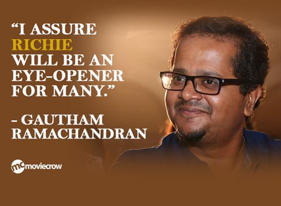 Director Gautham Ramamchandran Interview - Interview image