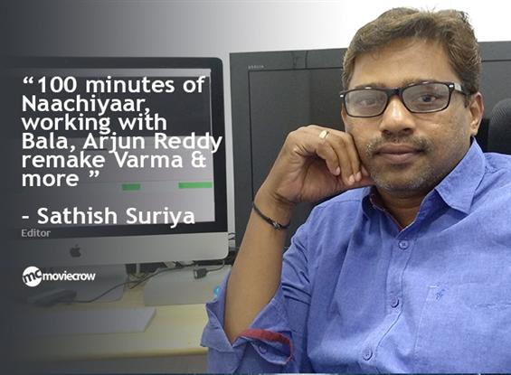 Editor Sathish Suriya Interview - Interview image