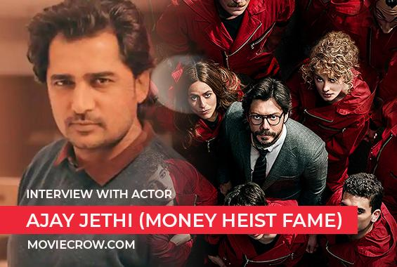 Interview with Ajay Jethi (Money Heist fame) - Interview image