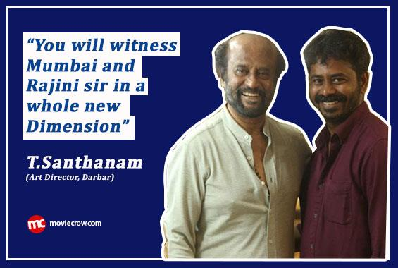 Interview with Art Director T.Santhanam - Interview image