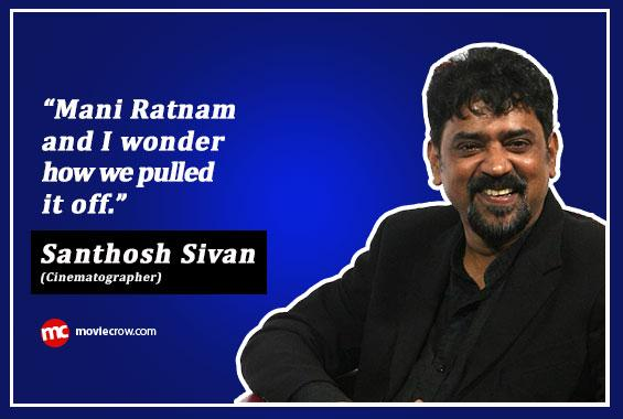 Interview with Santhosh Sivan  - Interview image