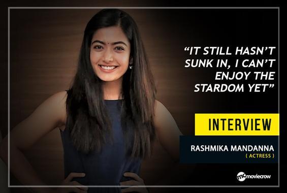 Mini Chat with Rashmika Mandanna  - Interview image
