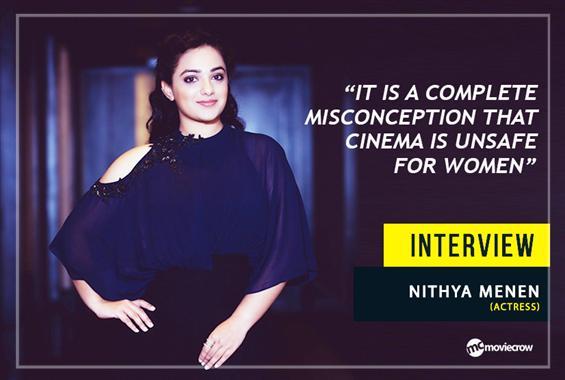 Nithya Menen Interview - Interview image
