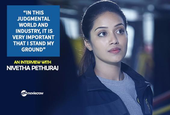 Nivetha Pethuraj Interview - Interview image