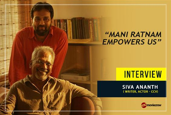 Siva Ananth Interview - Interview image