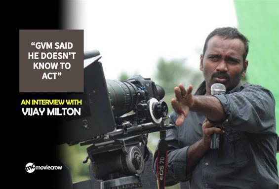 Vijay Milton Interview - Interview image