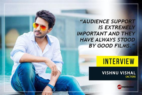 Vishnu Vishal Interview - Interview image