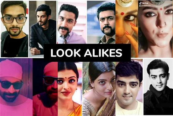 17 Tamil Film Celebrity Look Alikes - Crazy Dopple...