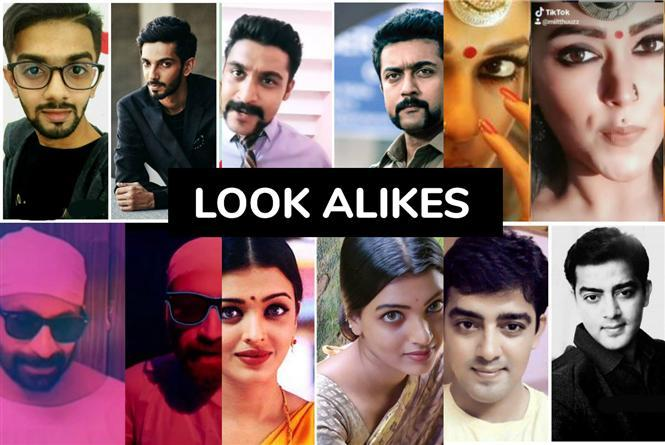 17 Tamil Film Celebrity Look Alikes - Crazy Dopplegangers of Kollywood stars!