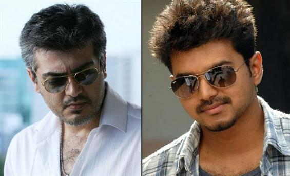 2 for Ajith, a whopping 8 for Vijay in France Box ...