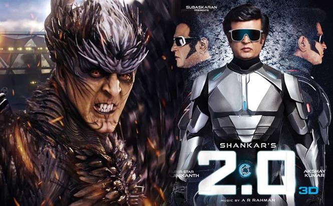 2.0 Box-Office: Rajinikanth, Akshay Kumar starrer mints Rs. 1.45 Cr in Pakistan!