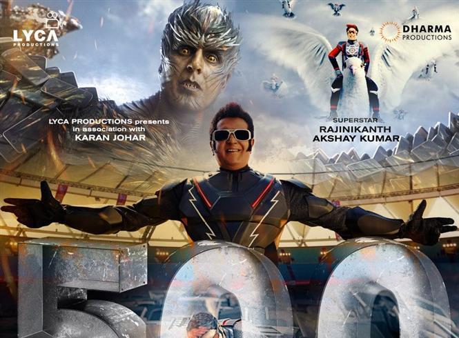 2.0 Hindi surpasses Baahubali's Lifetime Box-Office Collections!