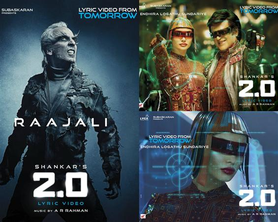 2.0: Lyric Videos to release for Raajali, Enthira ...