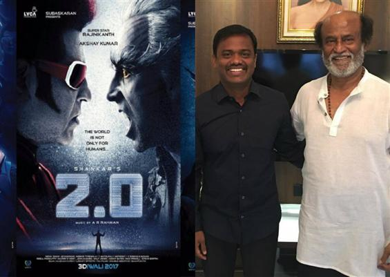 2.0 Producer Raju Mahalingam steps down, to join R...