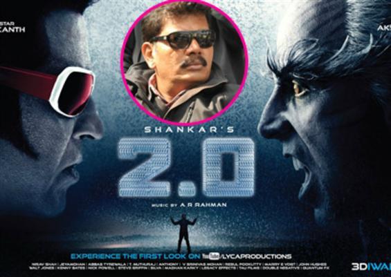 2.0 Teaser Update : Director Shankar says work goi...