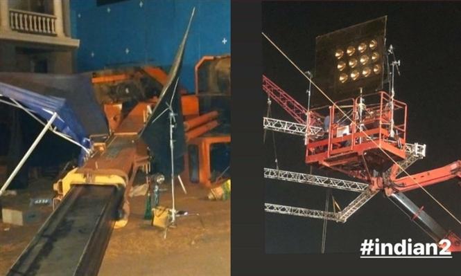 3 dead and several injured after crane crashes on Kamal Haasan's Indian 2 sets