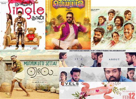 5 Tamil Films in Valentine's Week Box Office Race!