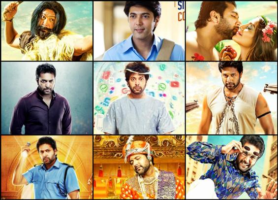 9 Looks of Jayam Ravi in Comali