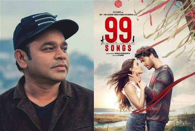 99 Songs Tracklist: A.R. Rahman shares Tamil credits!