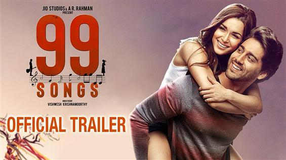 99 Songs Trailer: AR Rahman's musical drama tracks...