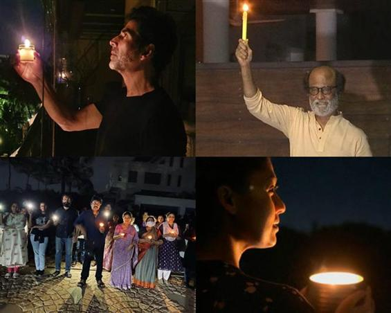 #9PM9Minutes: Celebs light diyas, candles in suppo...