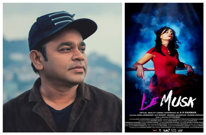 A 70-minute 360 degree 3D sensory experience: A.R. Rahman about directorial debut Le Musk!