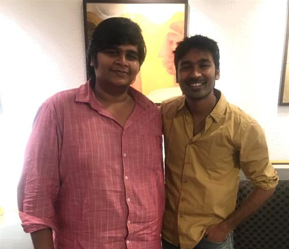 A big change in the Dhanush - Karthik Subbaraj fil...