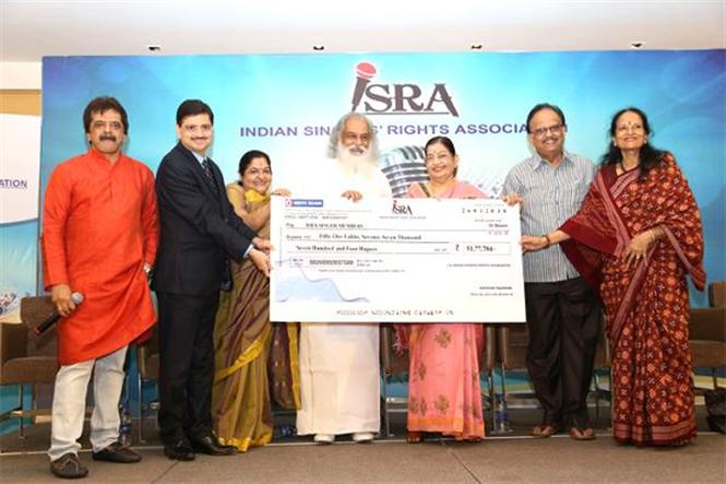 A first in royalty fight: Playback singers of South film industry receive Rs. 51 lakh from Indian Singers' Rights Association (ISRA)