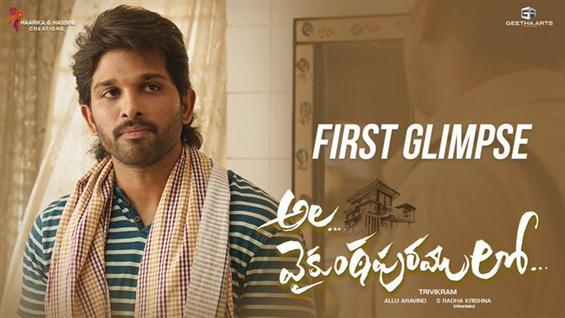 AA19 First Glimpse: Allu Arjun - Trivikram film ti...