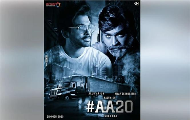 AA20: Allu Arjun's Movie Titled Pushpa?