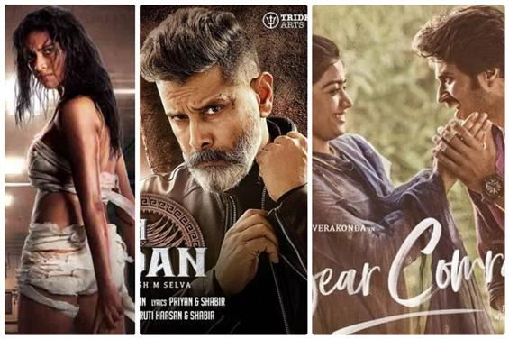 Aadai, Kadaram Kondan and Dear Comrade storm up as...