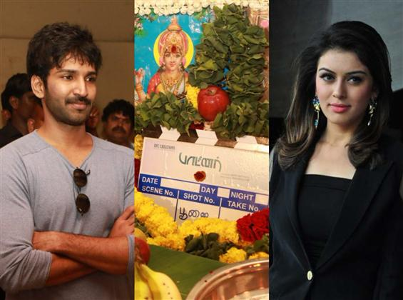 Aadhi, Hansika starrer Partner begins with a pooja...