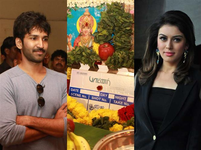 Aadhi, Hansika starrer Partner begins with a pooja ceremony