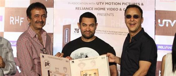 Aamir Khan launches PK DVD