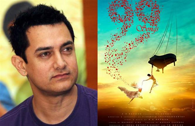Aamir Khan Wishes Best To AR Rahman For 99 Songs