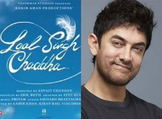 Aamir Khan's Laal Singh Chaddha title motion poste...