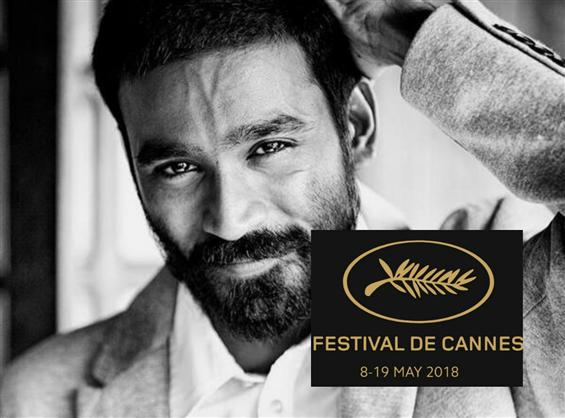 Actor Dhanush to make his debut at the Cannes Film...