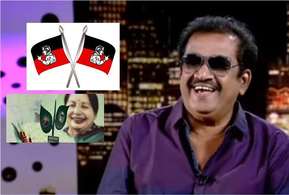 Actor Pandu, man behind AIADMK party symbols passe...