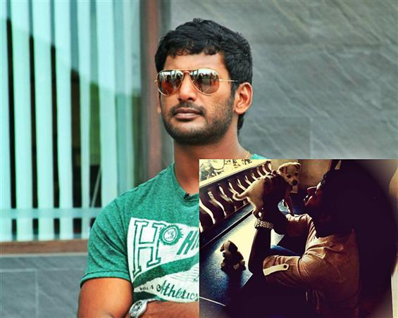 Actor Vishal to turn director with a movie on dogs...