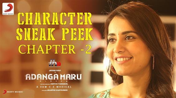 Adanga Maru Sneak Peek Feat. Jayam Ravi, Raashi Kh...