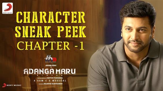 Adanga Maru Sneak Peek feat. Jayam Ravi
