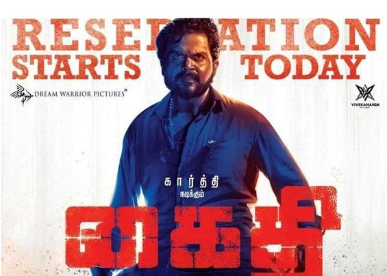 Advance Bookings Open for Karthi's Kaithi