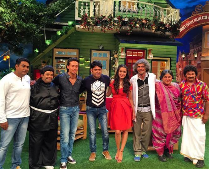 After Shah Rukh Khan, 'Baaghi' team on Kapil Sharma Show
