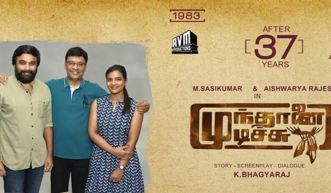 Aishwarya Rajesh joins Sasikumar for Munthanai Mudichu Remake!