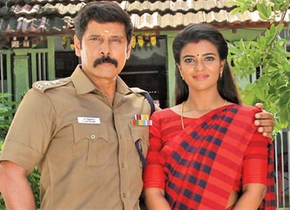 Aishwarya Rajesh replaces Trisha in Saamy 2